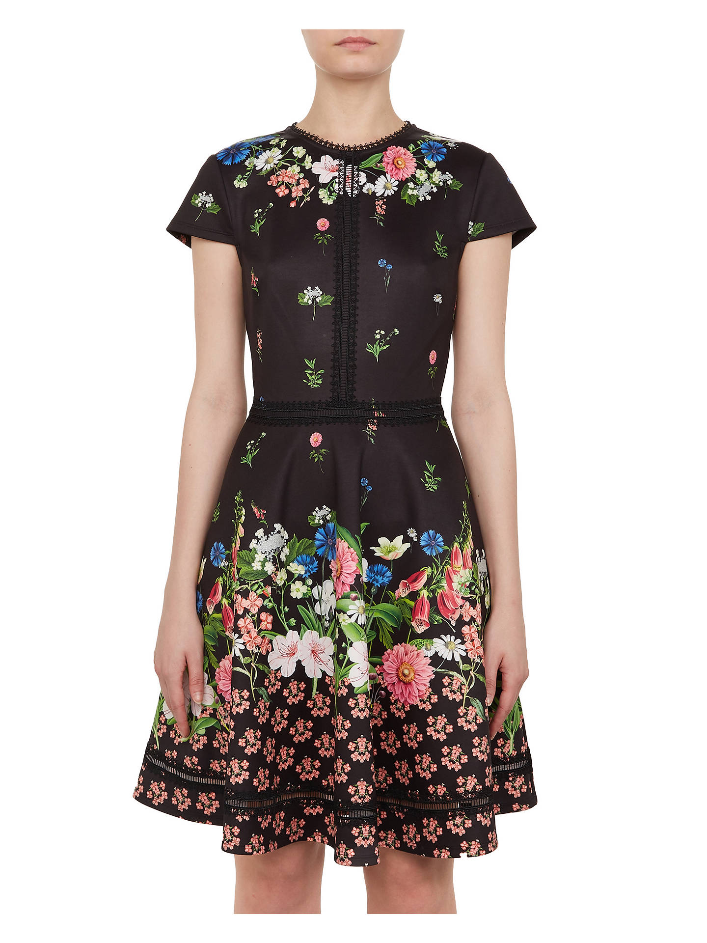 ed3a9f6159dd Buy Ted Baker Daissie Floral Skater Dress