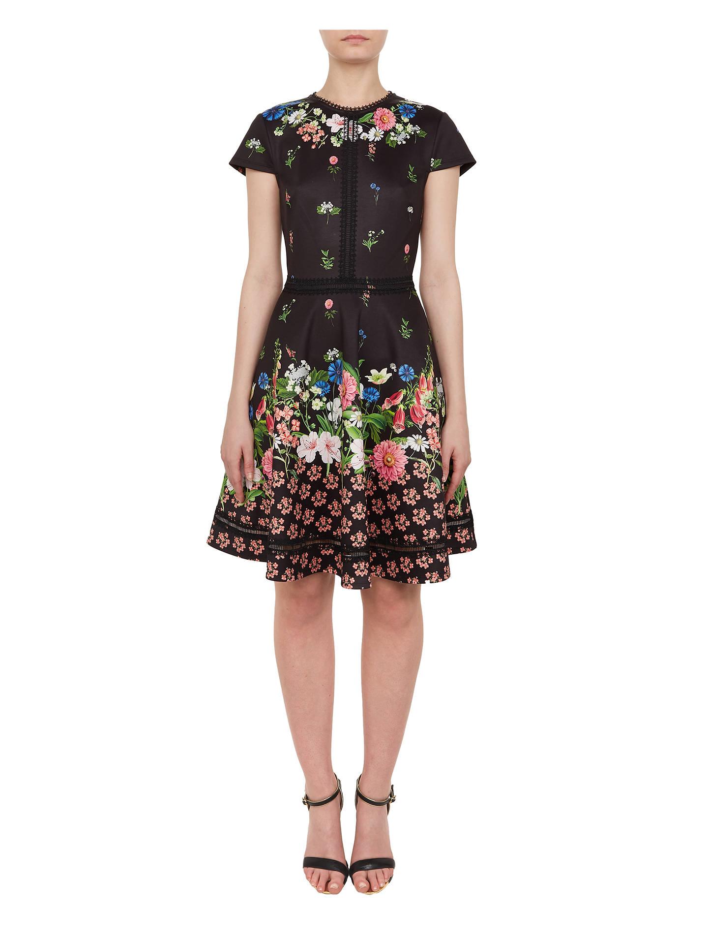 ... BuyTed Baker Daissie Floral Skater Dress 20e6edb18