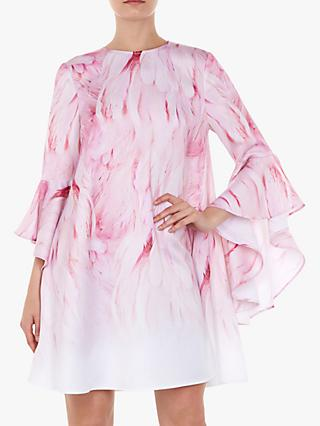 Ted Baker Sareina Sleeve Dress, Pink