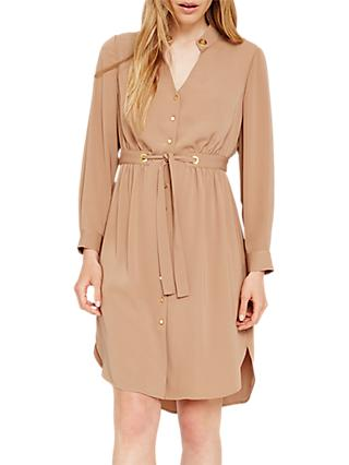 Damsel in a Dress Hannah Drawstring Tunic Dress, Camel