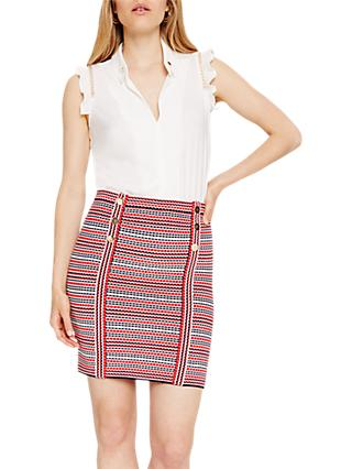 Damsel in a Dress Lyn Stripe Knitted Skirt, Multi