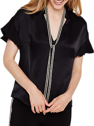 Damsel in a Dress Marianna Beaded Collar Blouse