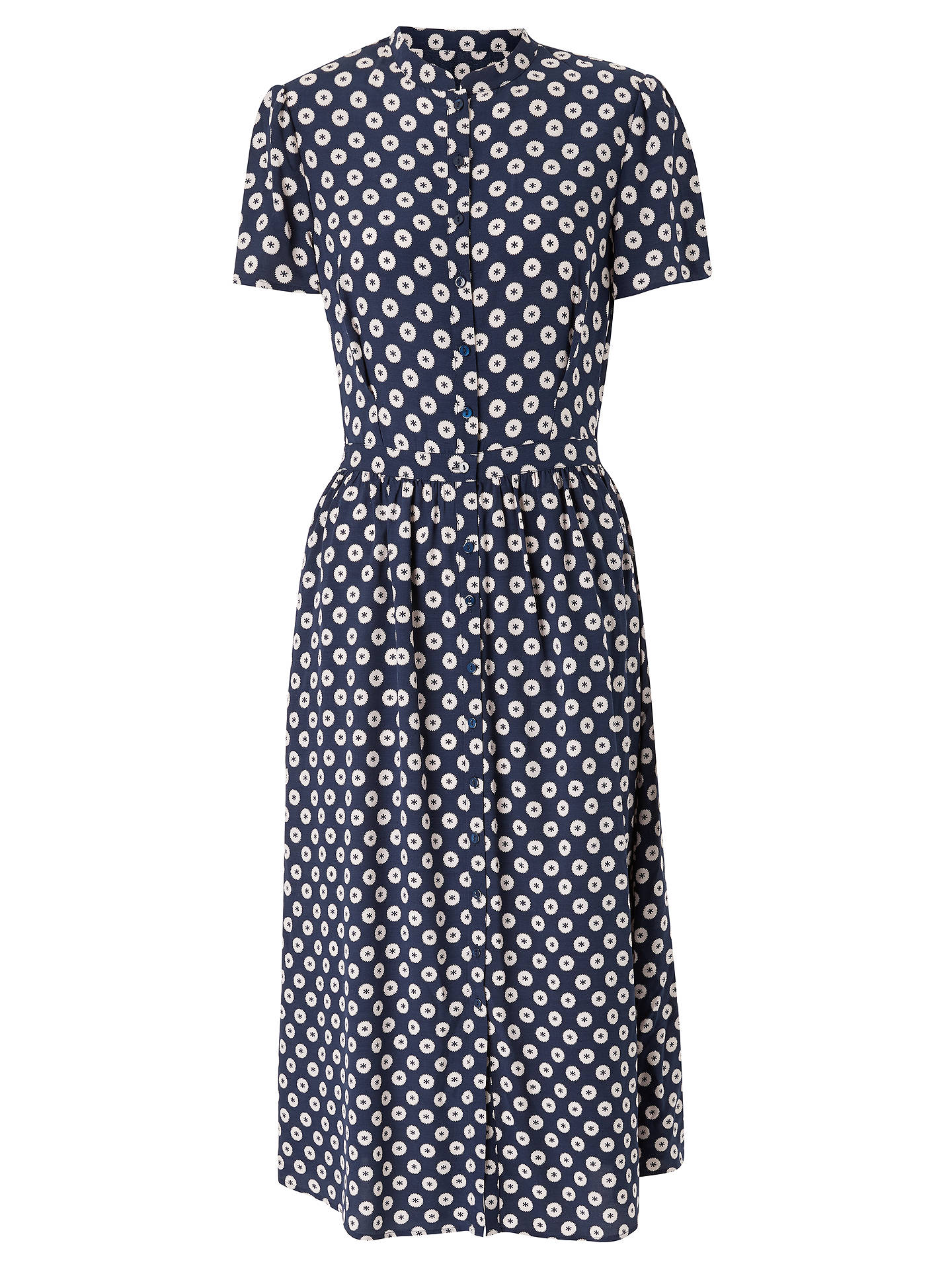 Buy Somerset by Alice Temperley Banana Spot Shirt Dress, Blue, 8 Online at johnlewis.com
