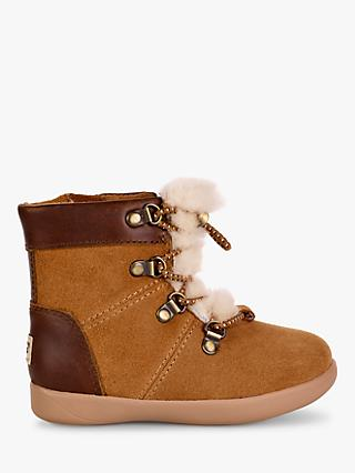 UGG Children's Ager Boots, Chestnut Brown