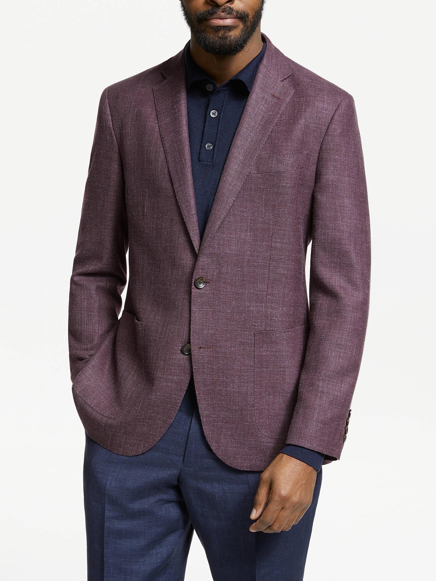 c3c75a35 John Lewis & Partners Zegna Wool Silk Linen Tailored Blazer ...