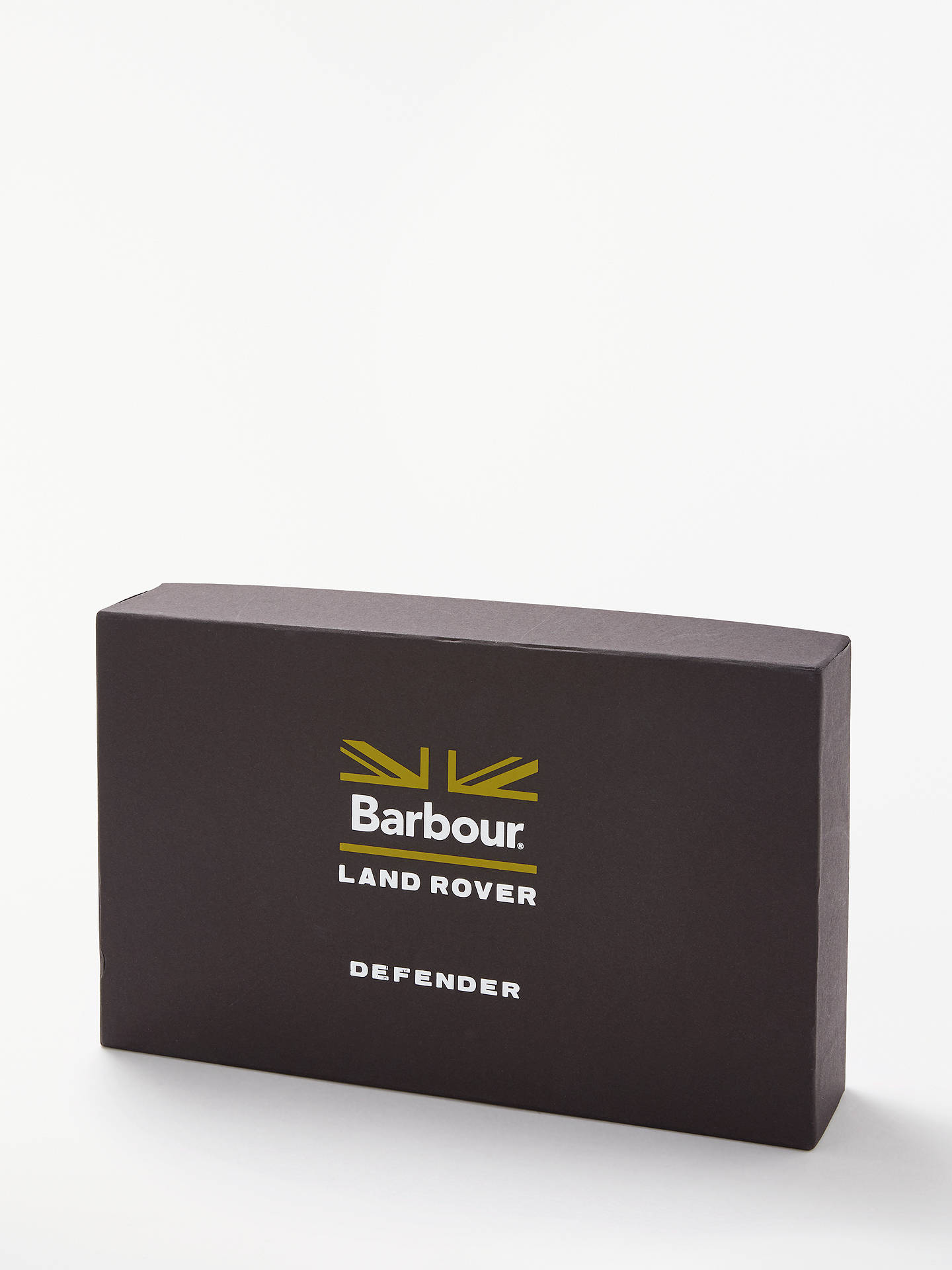 Buy Barbour Land Rover Defender Belt and Card Holder Gift Set, Black Online at johnlewis.com
