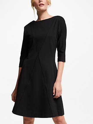 Winser London Anne Miracle Dress, Black