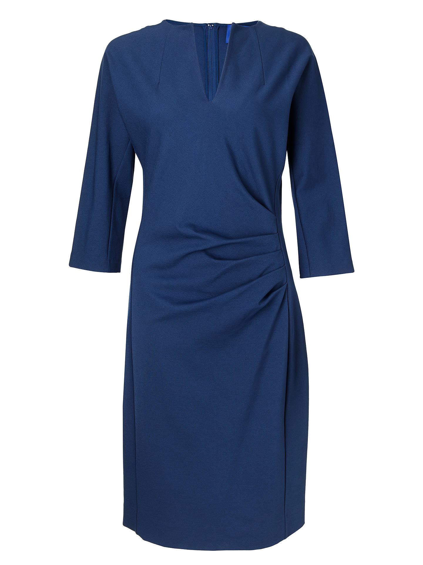 Buy Winser London V-Neck Lauren Miracle Dress, Rich Blue, 10 Online at johnlewis.com