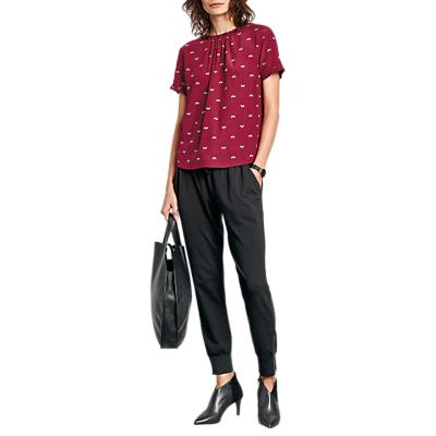 hush Alexas Frill T-Shirt, Red Multi