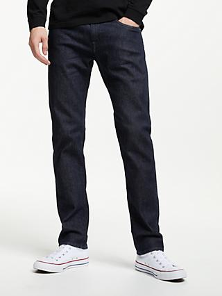 Edwin Ed-55 Regular Tapered Jeans, Blue Denim