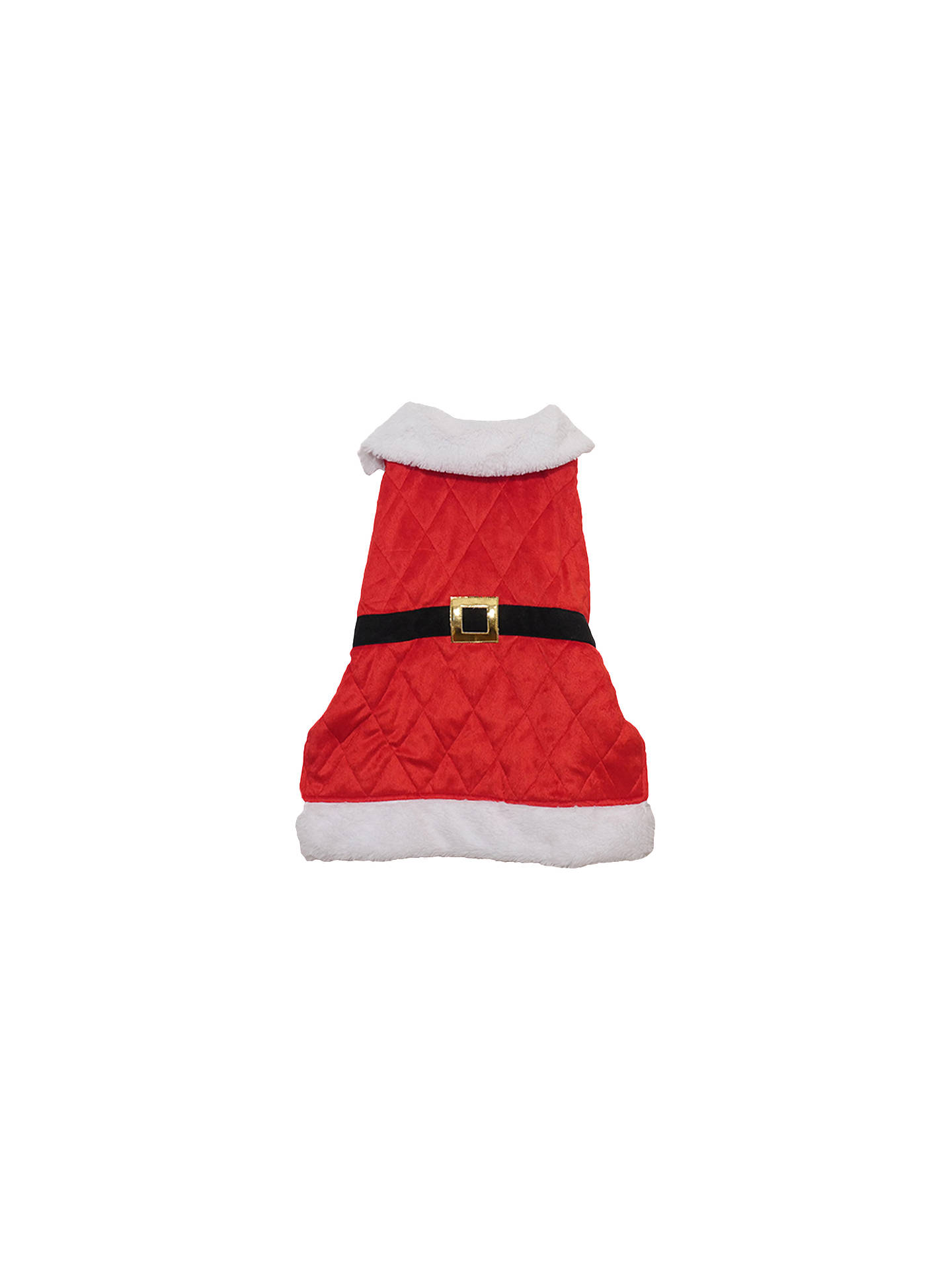BuyRosewood Santa Dog Coat, Large Online at johnlewis.com