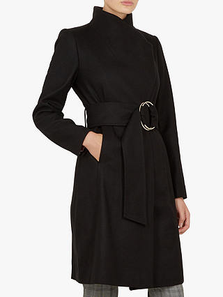 Buy Ted Baker Rayay Coat, Black, XL Online at johnlewis.com