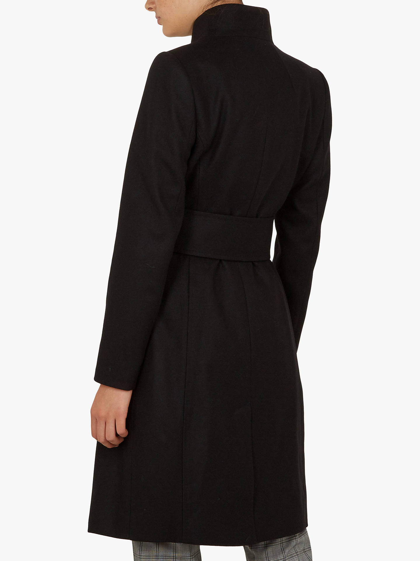 BuyTed Baker Rayay Coat, Black, XL Online at johnlewis.com