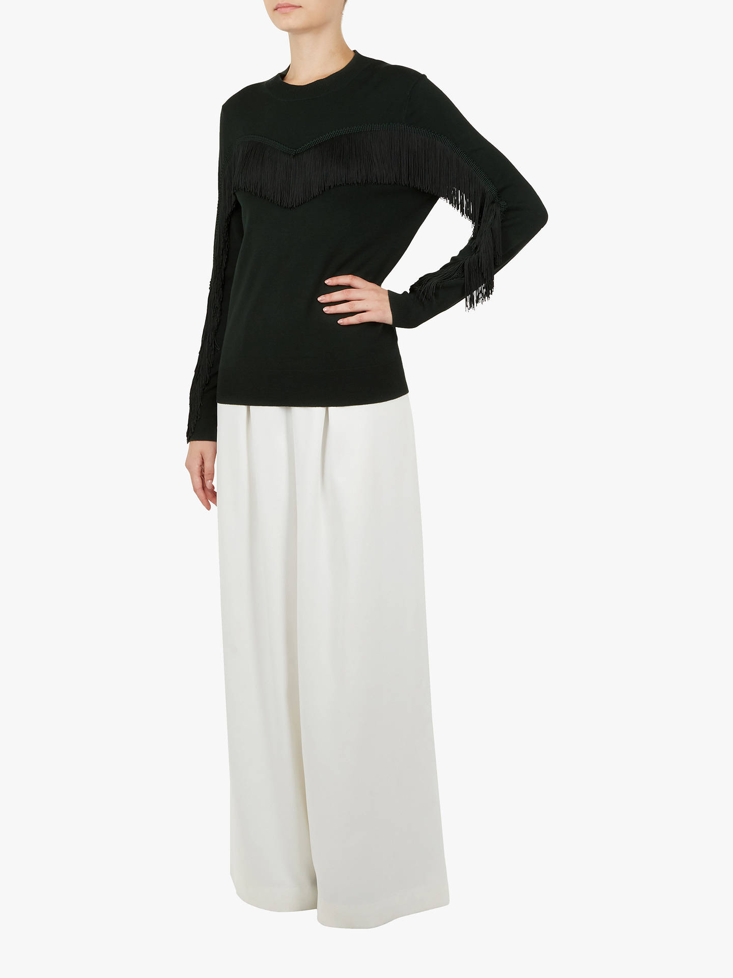 Buy Ted Baker Aniebal Jumper, Green Dark, XS Online at johnlewis.com