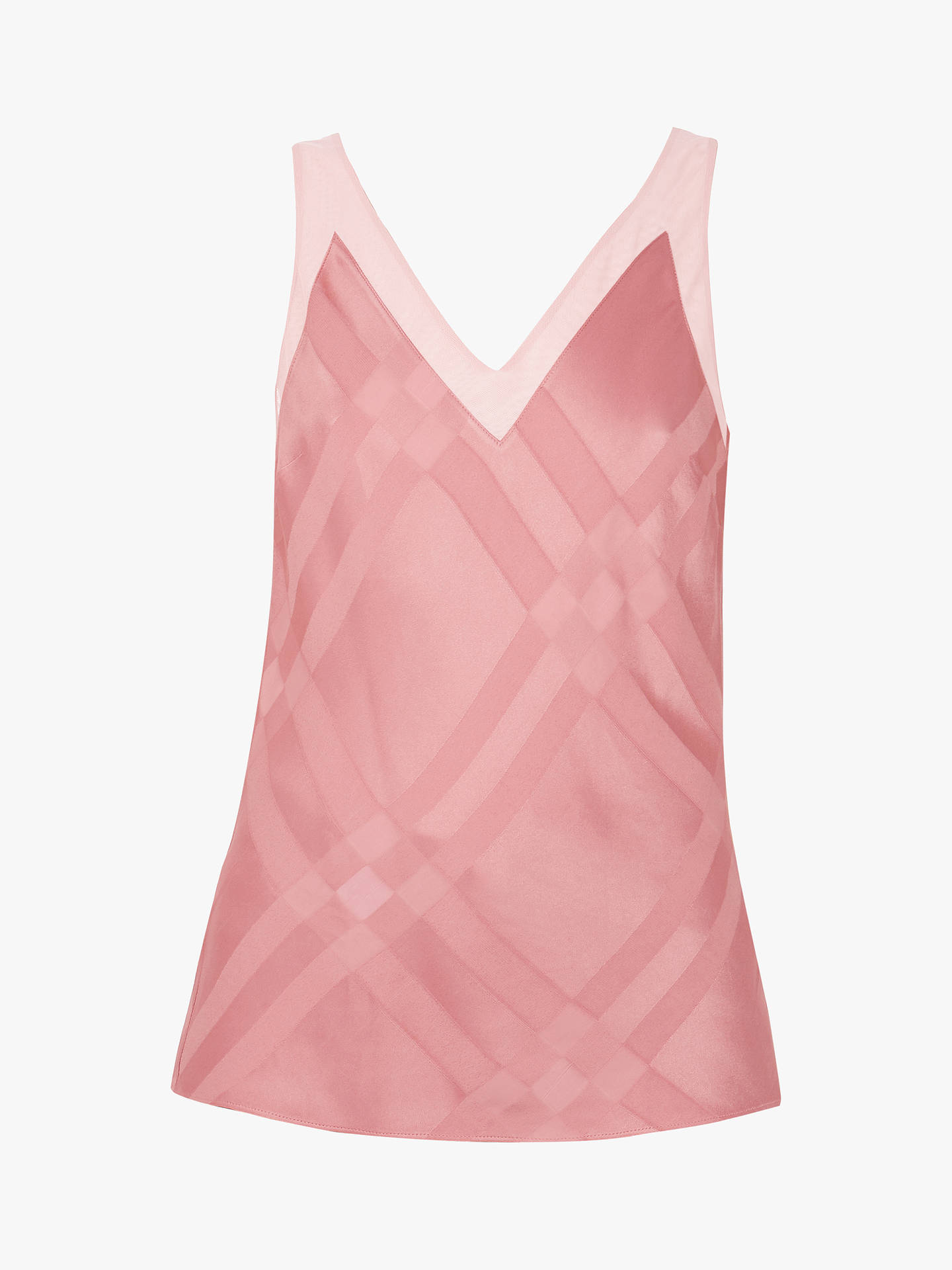Buy Ted Baker Elten V-Neck Cami, Orange Coral, M Online at johnlewis.com