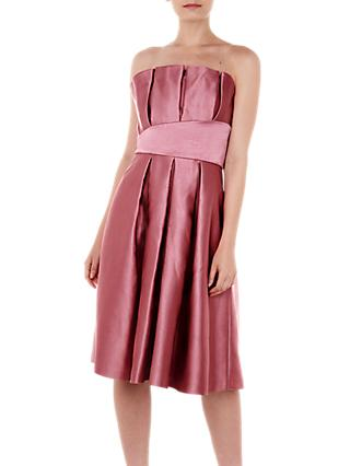 Ted Baker Pippaa Pleated Strapless Dress