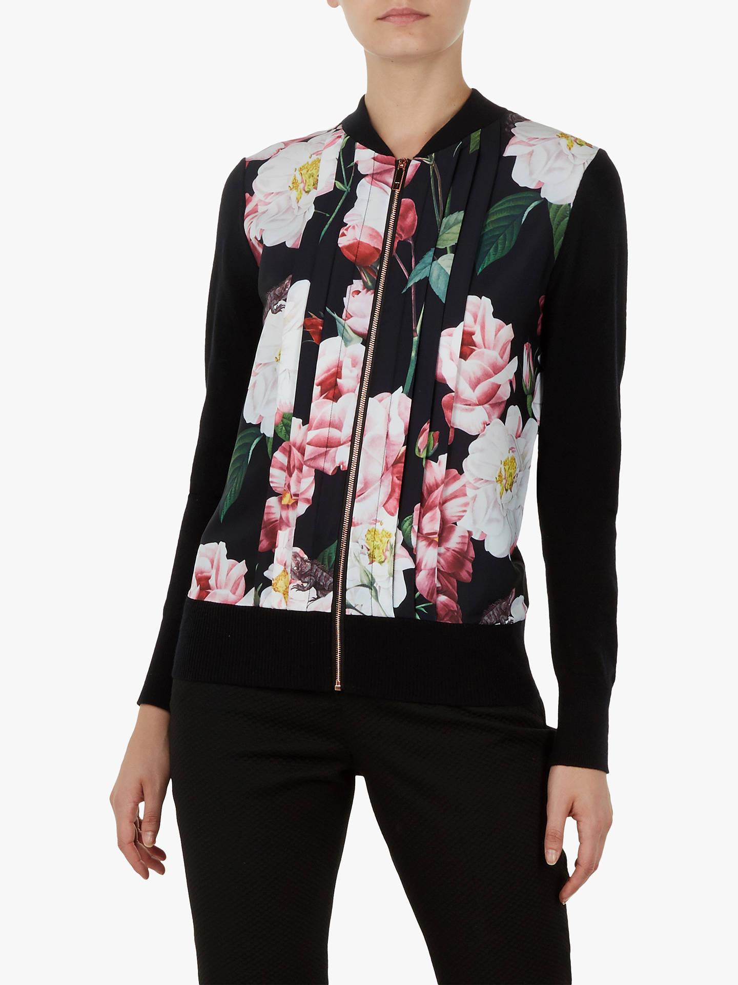 679408c09e5cc Buy Ted Baker Jaymiey Floral Bomber Jacket