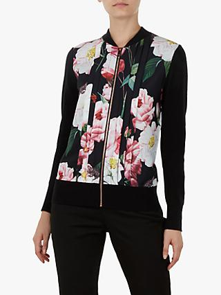 7d0236be15cd8 Ted Baker Jaymiey Floral Bomber Jacket