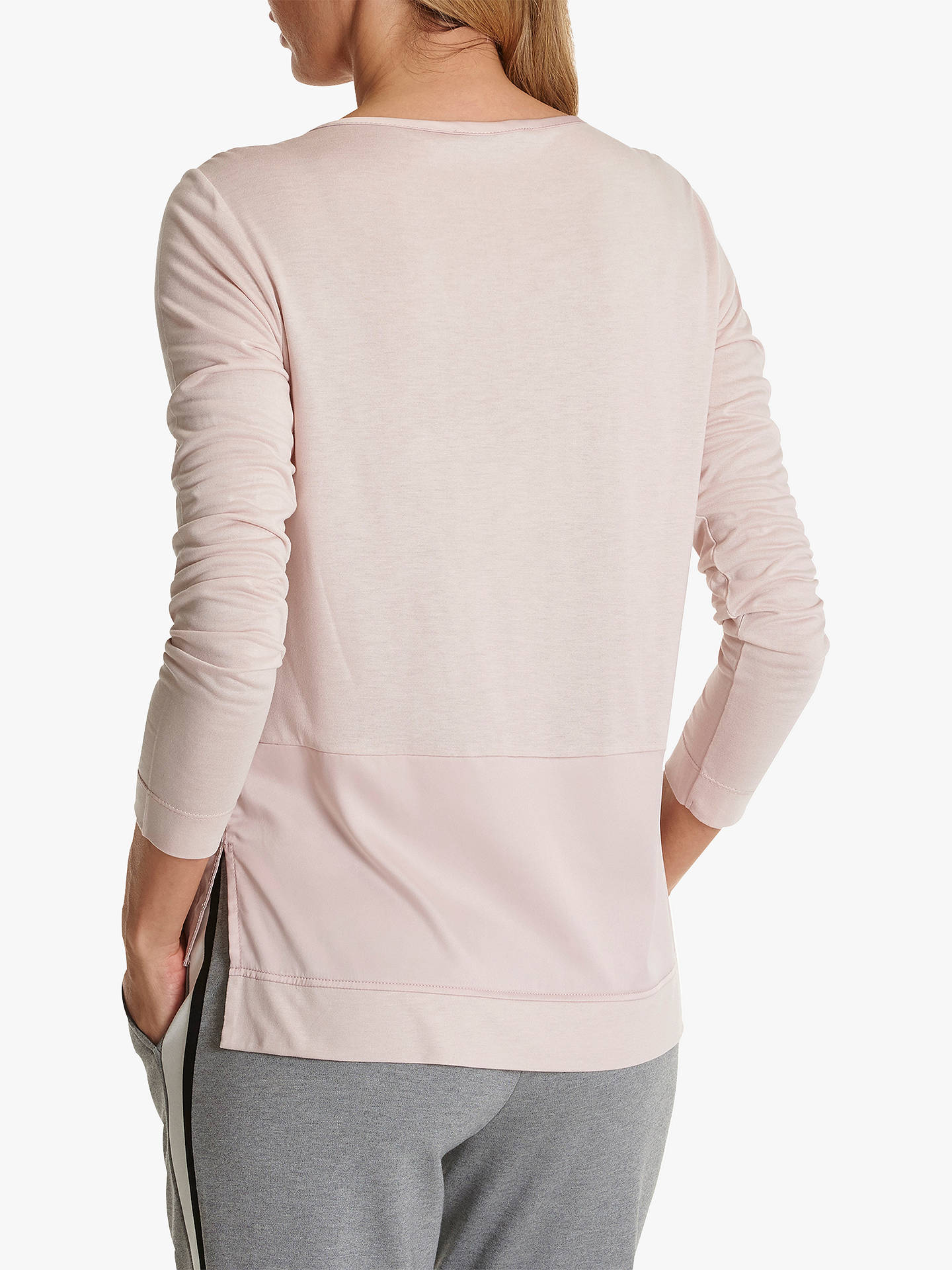 Buy Betty Barclay Satin Jersey Top, Shadow Rose, 10 Online at johnlewis.com