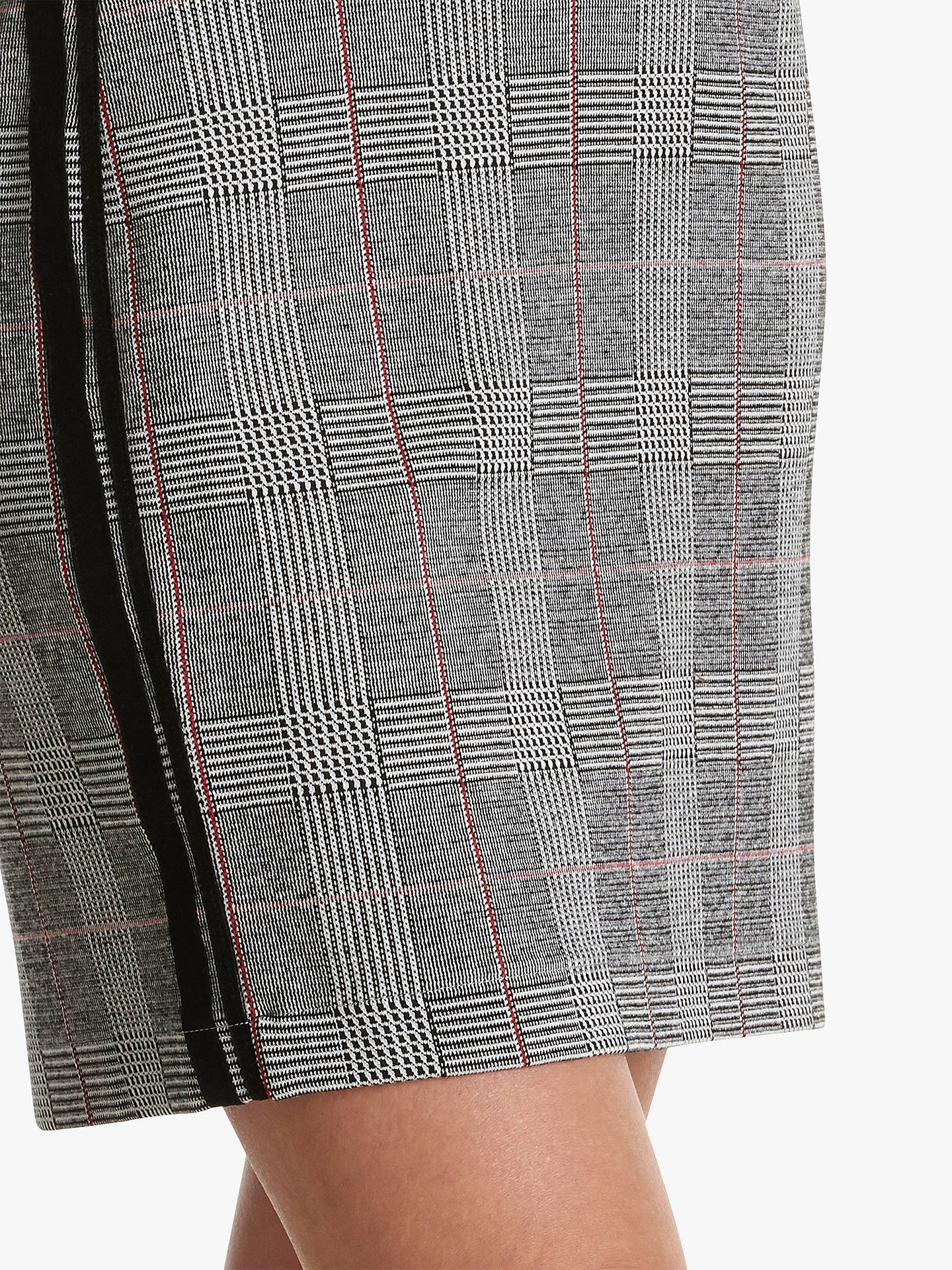 Buy Betty Barclay Check Skirt, Black/White, 10 Online at johnlewis.com