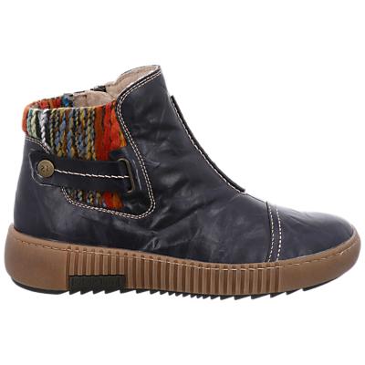 Josef Seibel Maren 07 Ankle Boots, Blue Leather