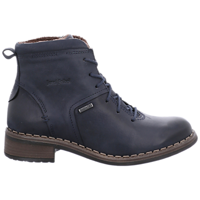 Josef Seibel Selena 50 Waterproof Ankle Boots, Ocean Leather