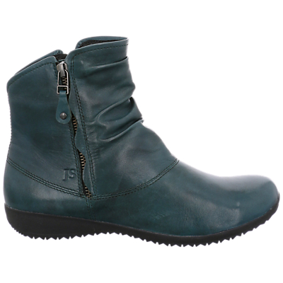 Josef Seibel Naly 24 Ankle Boots, Blue Leather