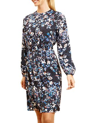 Fenn Wright Manson Sloane Floral Dress, Midnight Blossom