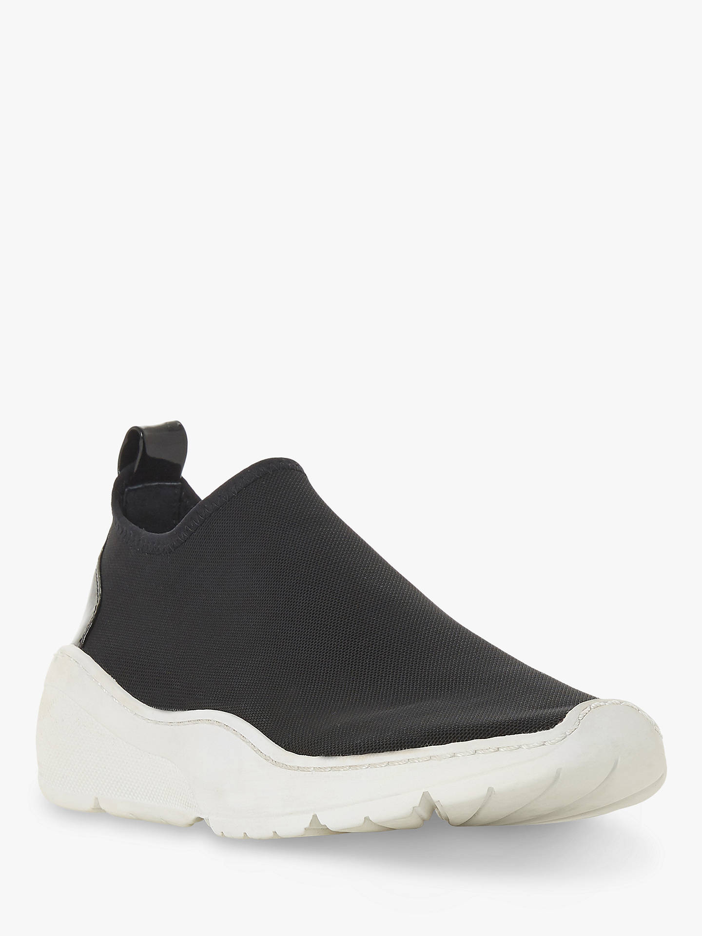 Buy Steve Madden Floren SM Slip-On Trainers, Black, 5 Online at johnlewis.com