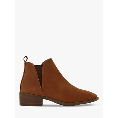Steve Madden Dante Block Heel Ankle Boots, Taupe Leather