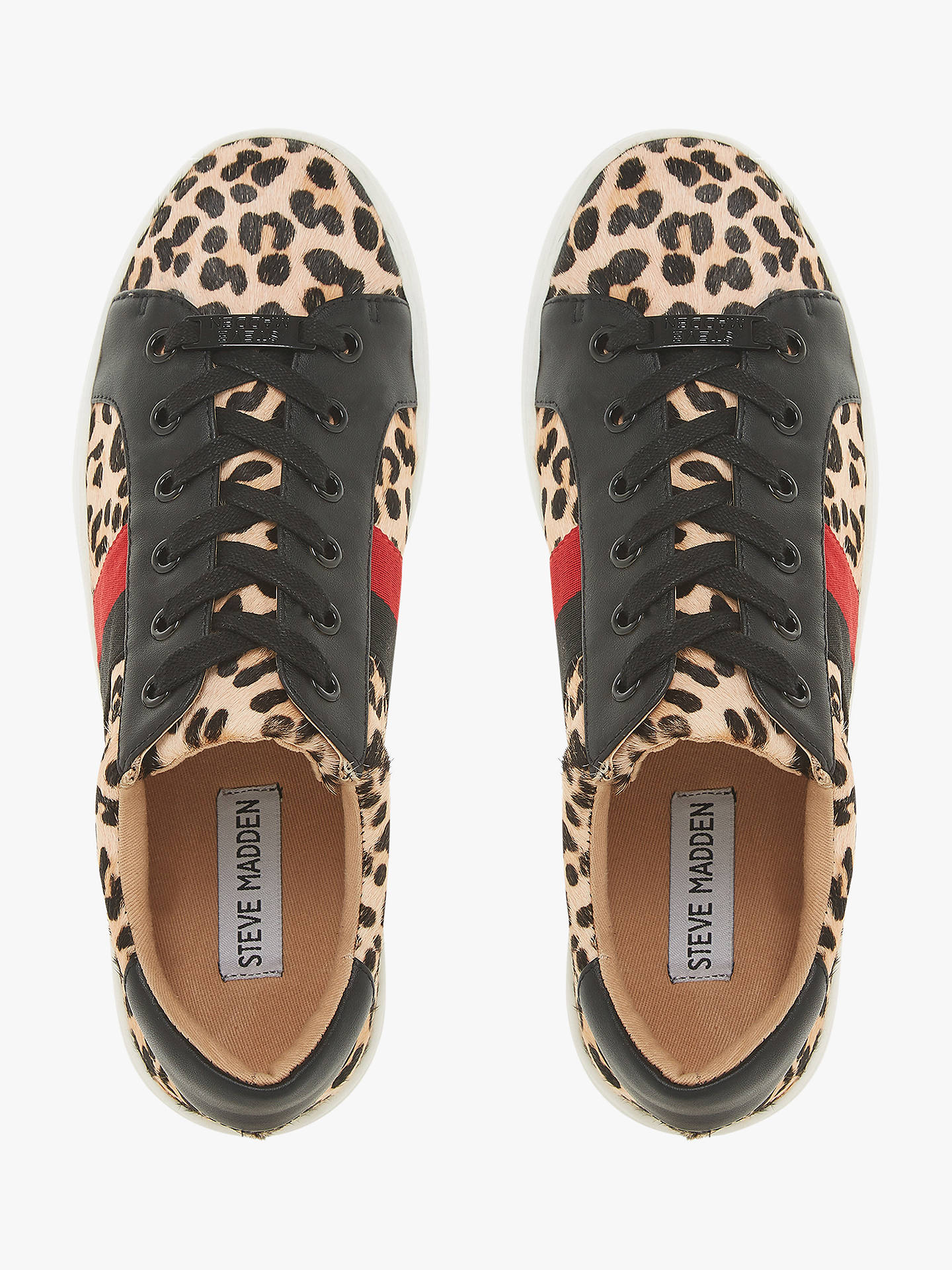84189c781e8 Buy Steve Madden Belle Lace Up Trainers