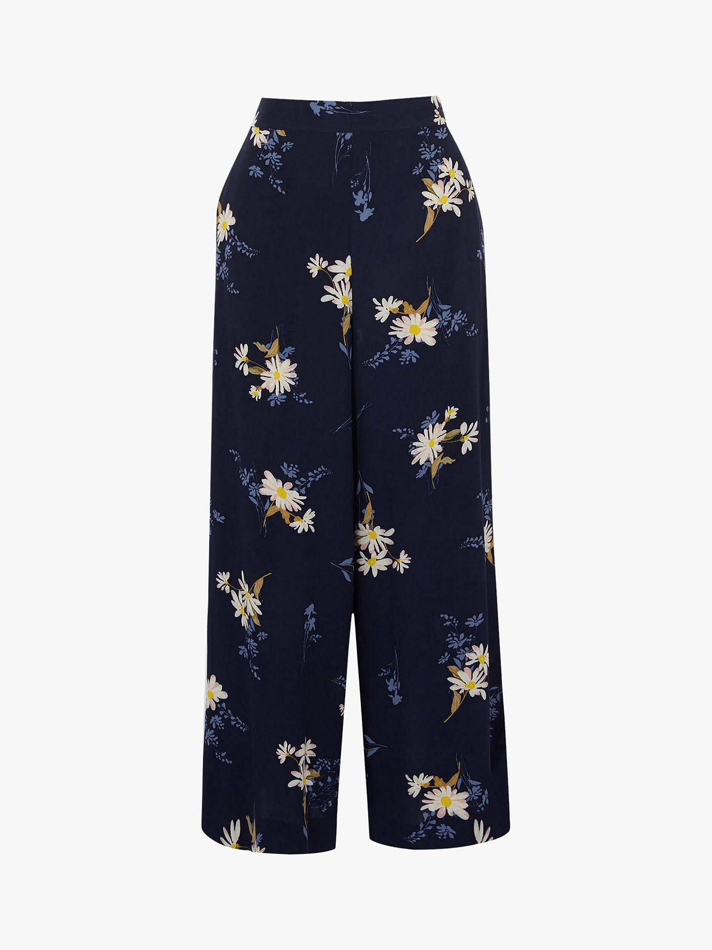 BuyWarehouse Daisy Culottes, Navy, 10 Online at johnlewis.com