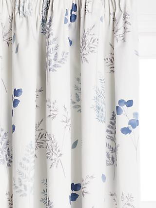 John Lewis & Partners Wisley Pair Blackout Lined Pencil Pleat Curtains