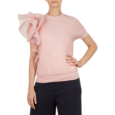 Ted Baker Anabane Detail Knit Top, Pink Pastel