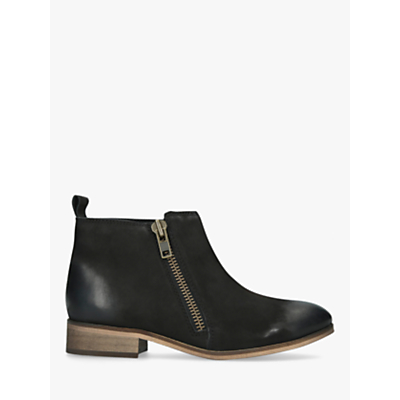 KG Kurt Geiger Spitfire Chelsea Boots, Black Leather