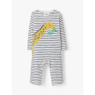Image of John Lewis & Partners Baby Giraffe Romper, Multi