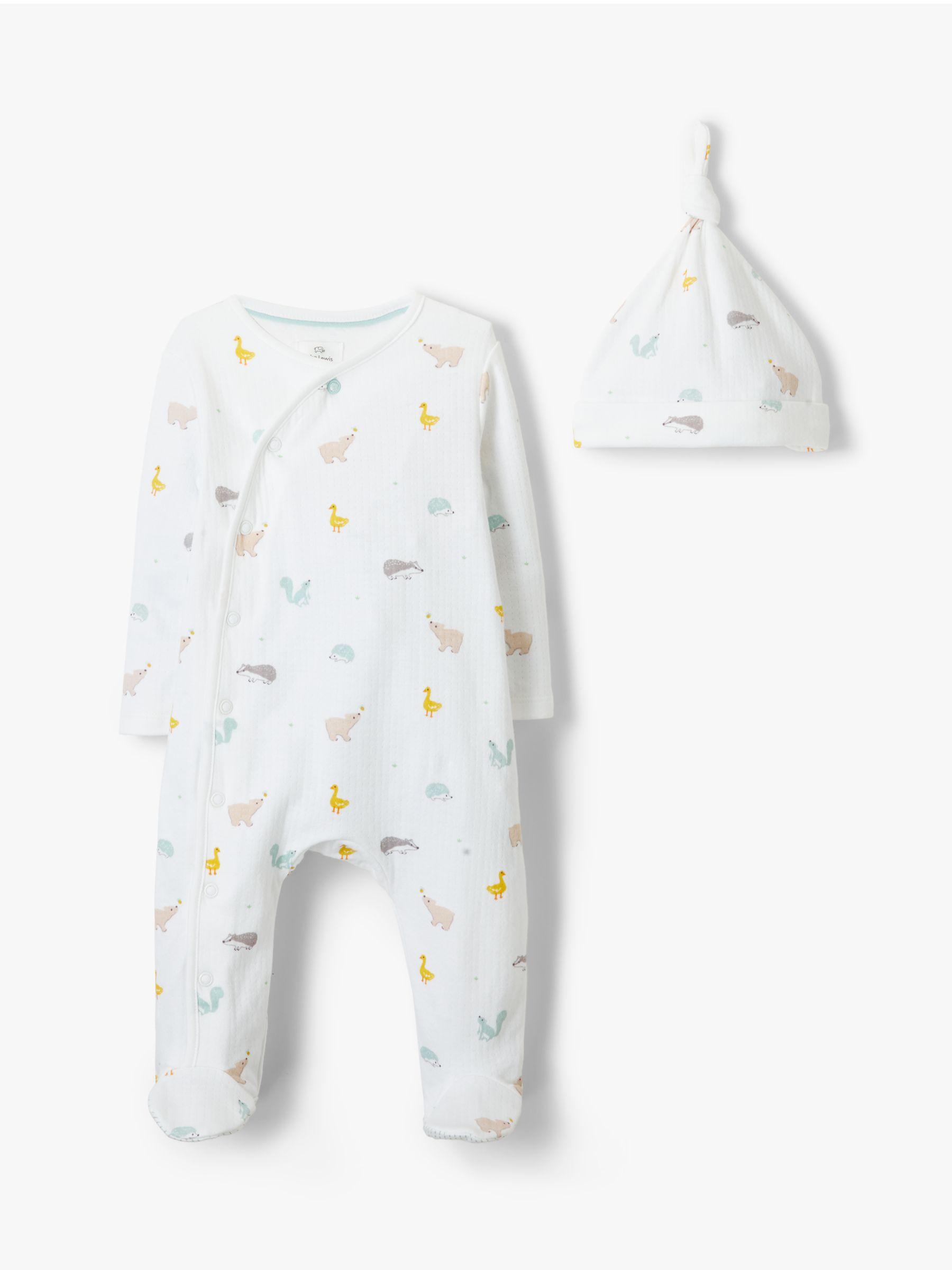 9 Months Pack of 2 Baby Boys Little Friends Sleepsuits Newborn
