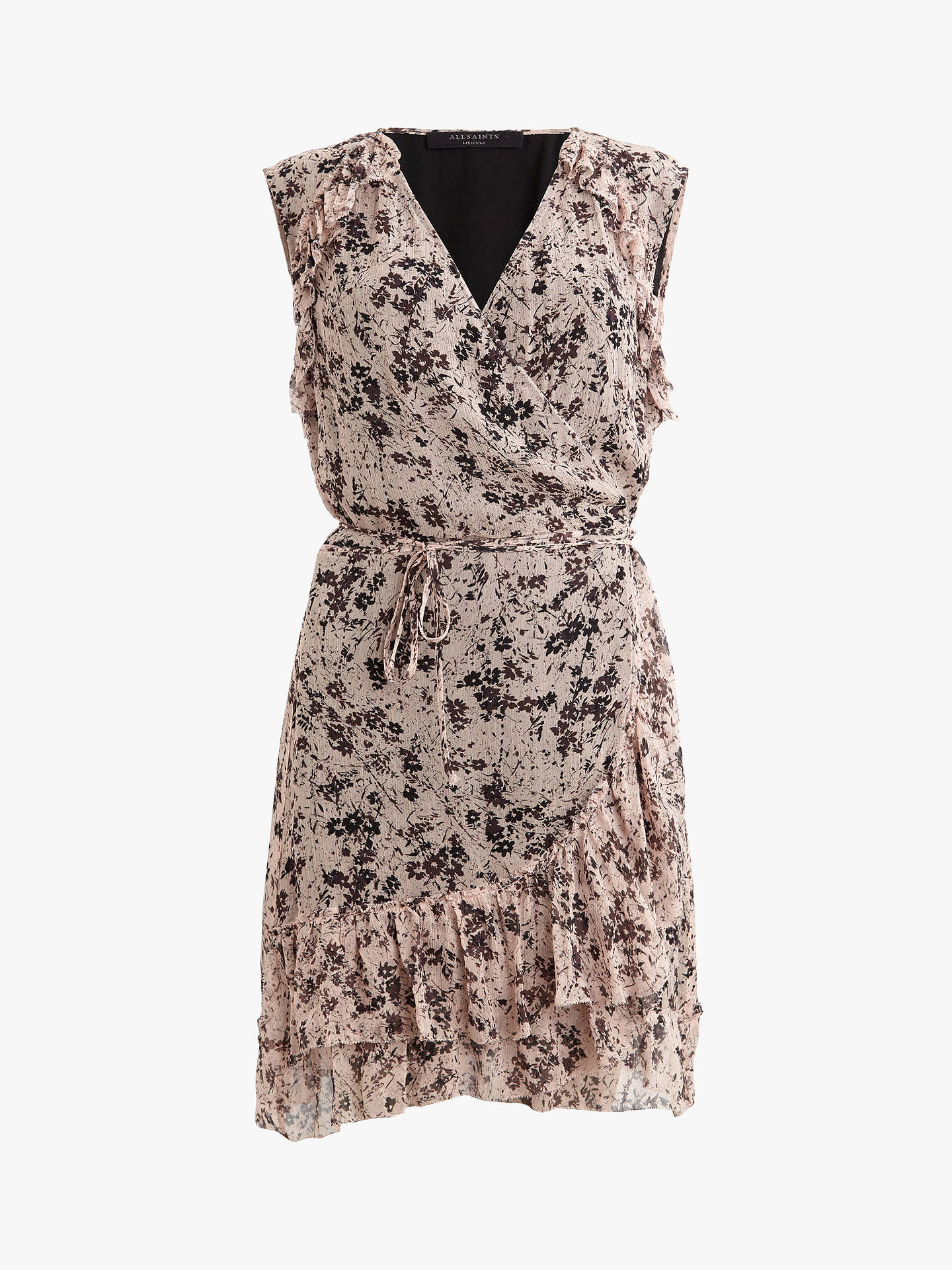BuyAllSaints Priya Dress, Multi, L Online at johnlewis.com