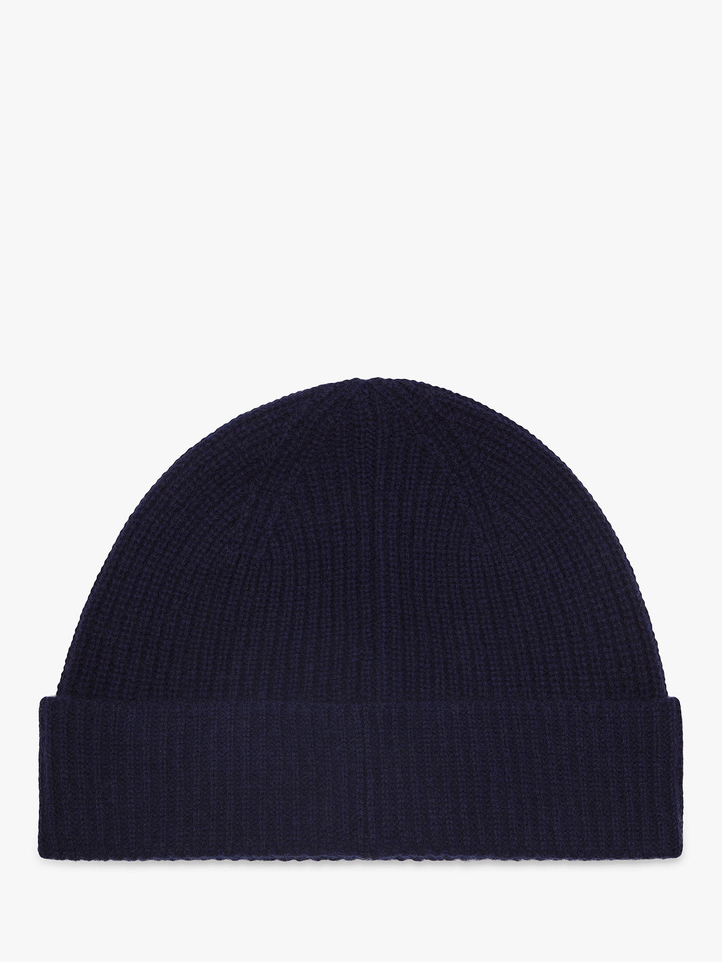 017cd44f64604 Reiss Emmerson Cashmere Beanie Hat at John Lewis & Partners