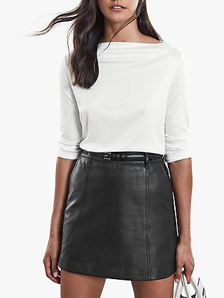 Reiss Marilyn Straight Neck Top