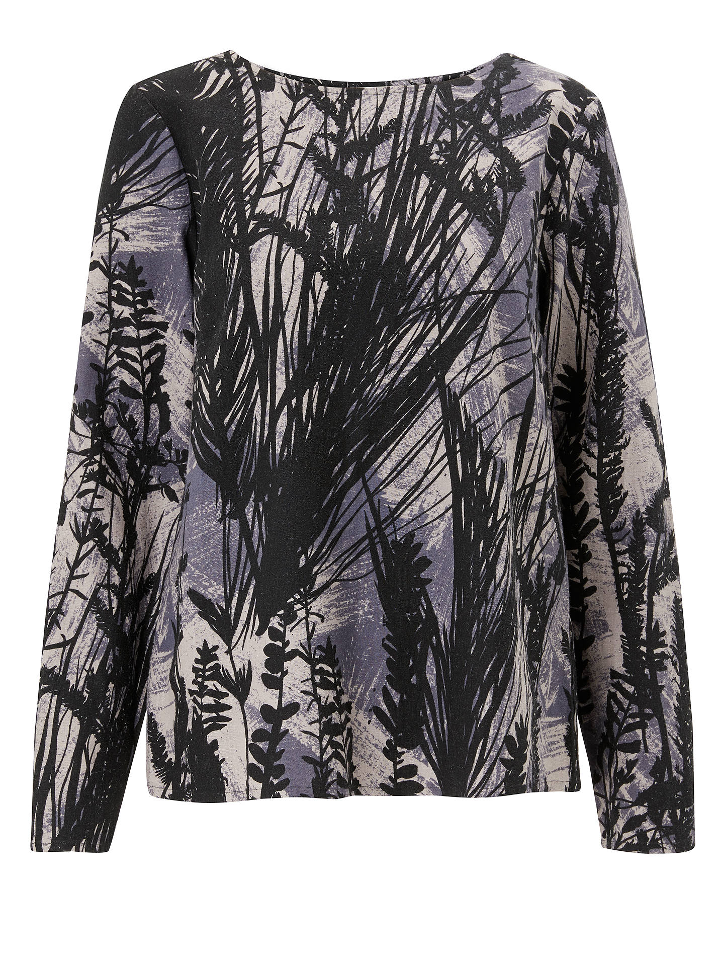 BuyThought City Nature Top, Black, 8 Online at johnlewis.com