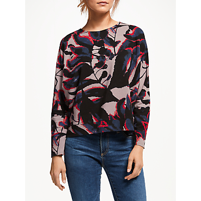 Thought Shadow Leaf Top, Multi
