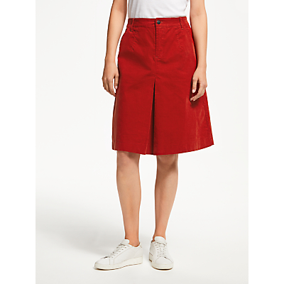 Thought Rubina Cord Skirt, Fox Red