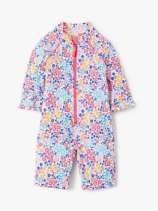 John Lewis   Partners Baby Floral SunPro Swimsuit 36074f6c941b