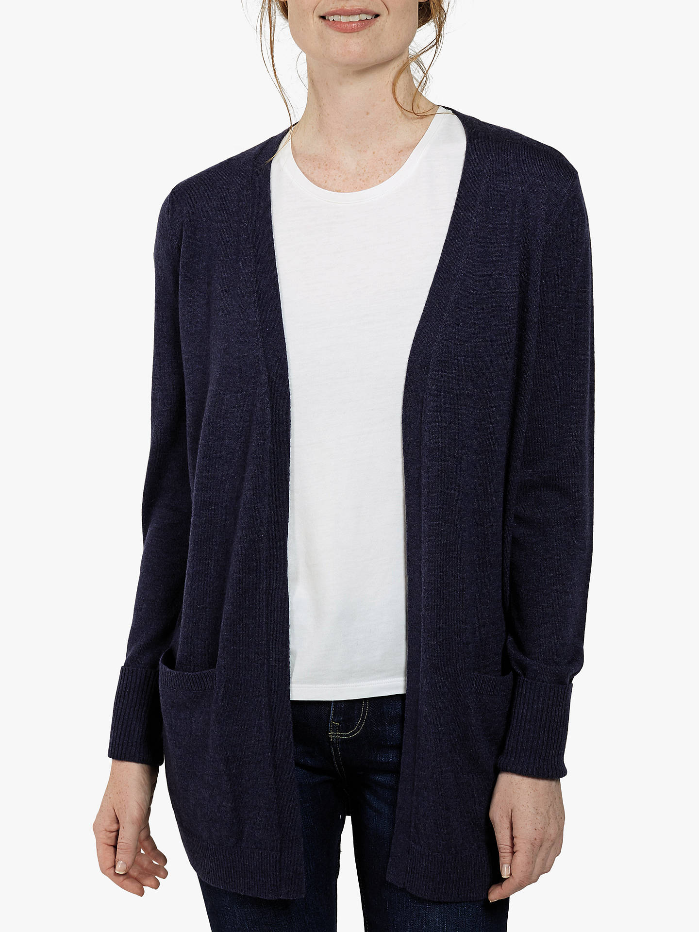 Fat Face Amber Cardigan Navy At John Lewis Partners Ambers Dress Buyfat 8 Online