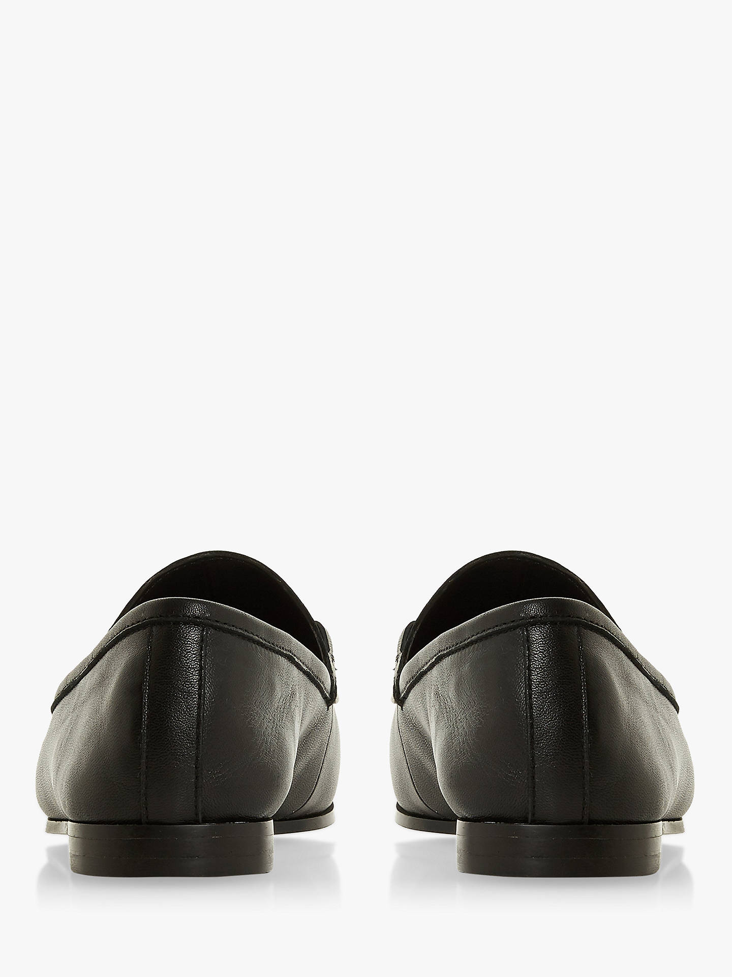 49ed3b747cd Dune Guiltt Wide Fit Loafers at John Lewis   Partners