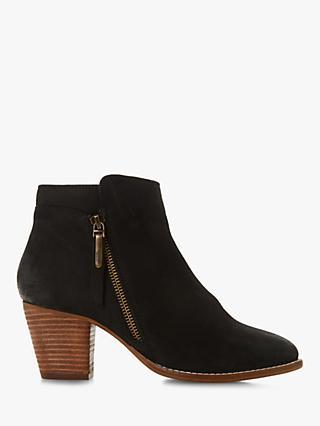 7e945d3b018d Dune Wide Fit Pontoon Block Heel Ankle Boots