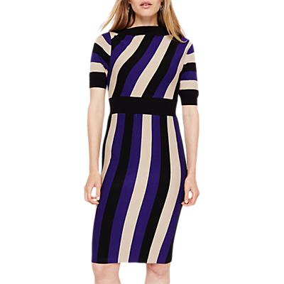 Damsel in a Dress Nadine Stripe Knitted Dress, Multi