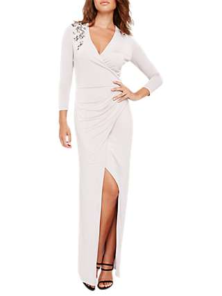 Damsel in a Dress Samia Wrap Maxi Dress