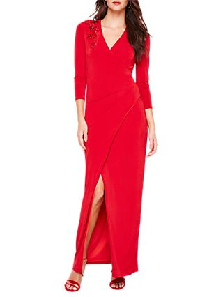 Damsel in a Dress Samia Wrap Maxi Dress